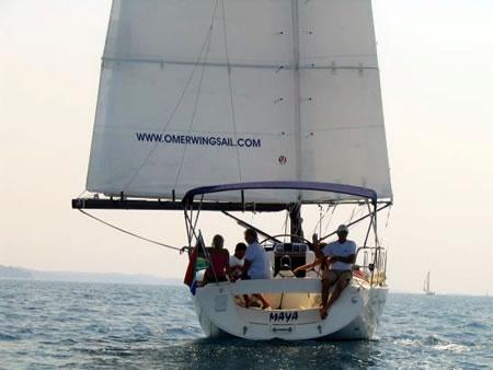motor sailing catamarans